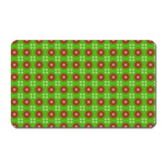 Wrapping Paper Christmas Paper Magnet (rectangular)