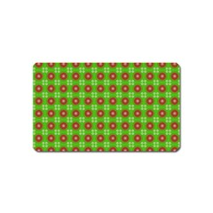 Wrapping Paper Christmas Paper Magnet (name Card)