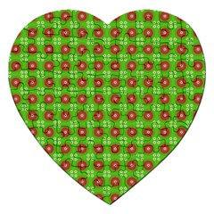 Wrapping Paper Christmas Paper Jigsaw Puzzle (Heart)