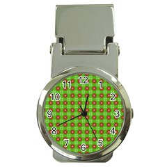 Wrapping Paper Christmas Paper Money Clip Watches