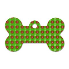 Wrapping Paper Christmas Paper Dog Tag Bone (One Side)