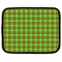 Wrapping Paper Christmas Paper Netbook Case (Large)