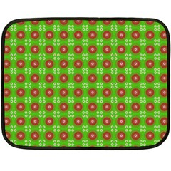 Wrapping Paper Christmas Paper Fleece Blanket (mini)