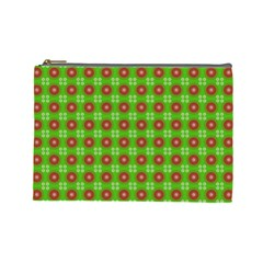 Wrapping Paper Christmas Paper Cosmetic Bag (Large)