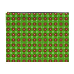 Wrapping Paper Christmas Paper Cosmetic Bag (xl)