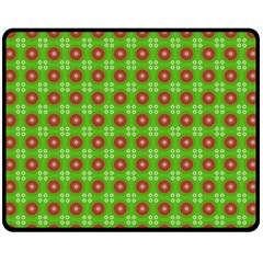 Wrapping Paper Christmas Paper Fleece Blanket (medium)