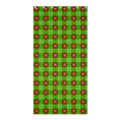 Wrapping Paper Christmas Paper Shower Curtain 36  x 72  (Stall)