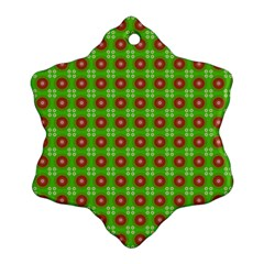 Wrapping Paper Christmas Paper Snowflake Ornament (Two Sides)