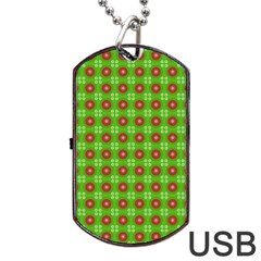 Wrapping Paper Christmas Paper Dog Tag USB Flash (One Side)