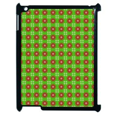 Wrapping Paper Christmas Paper Apple iPad 2 Case (Black)