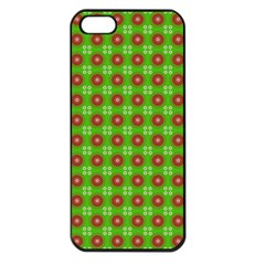 Wrapping Paper Christmas Paper Apple iPhone 5 Seamless Case (Black)