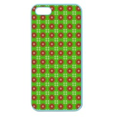 Wrapping Paper Christmas Paper Apple Seamless iPhone 5 Case (Color)