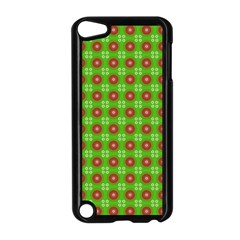Wrapping Paper Christmas Paper Apple iPod Touch 5 Case (Black)