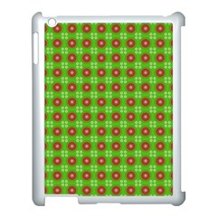 Wrapping Paper Christmas Paper Apple Ipad 3/4 Case (white)