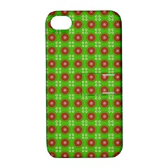 Wrapping Paper Christmas Paper Apple iPhone 4/4S Hardshell Case with Stand