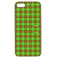 Wrapping Paper Christmas Paper Apple Iphone 5 Hardshell Case With Stand