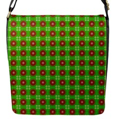 Wrapping Paper Christmas Paper Flap Messenger Bag (S)