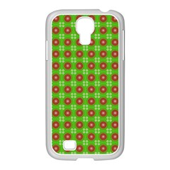 Wrapping Paper Christmas Paper Samsung Galaxy S4 I9500/ I9505 Case (white)