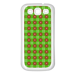 Wrapping Paper Christmas Paper Samsung Galaxy S3 Back Case (White)