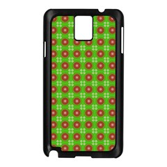 Wrapping Paper Christmas Paper Samsung Galaxy Note 3 N9005 Case (black)