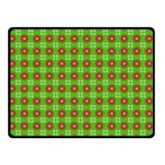 Wrapping Paper Christmas Paper Double Sided Fleece Blanket (small)