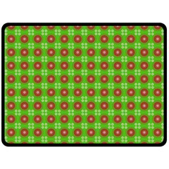 Wrapping Paper Christmas Paper Double Sided Fleece Blanket (Large)