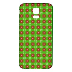 Wrapping Paper Christmas Paper Samsung Galaxy S5 Back Case (white)