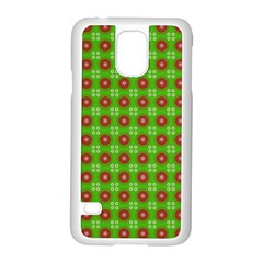 Wrapping Paper Christmas Paper Samsung Galaxy S5 Case (White)