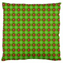 Wrapping Paper Christmas Paper Large Flano Cushion Case (one Side)