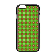 Wrapping Paper Christmas Paper Apple Iphone 6/6s Black Enamel Case