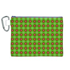 Wrapping Paper Christmas Paper Canvas Cosmetic Bag (xl)