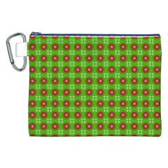 Wrapping Paper Christmas Paper Canvas Cosmetic Bag (XXL)