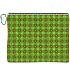 Wrapping Paper Christmas Paper Canvas Cosmetic Bag (XXXL)