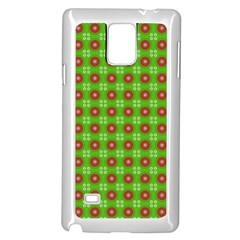 Wrapping Paper Christmas Paper Samsung Galaxy Note 4 Case (White)