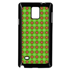 Wrapping Paper Christmas Paper Samsung Galaxy Note 4 Case (black)