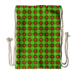 Wrapping Paper Christmas Paper Drawstring Bag (Large)