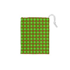 Wrapping Paper Christmas Paper Drawstring Pouches (XS)
