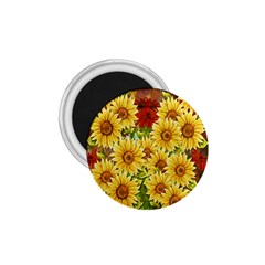 Sunflowers Flowers Abstract 1.75  Magnets