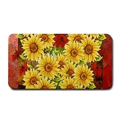 Sunflowers Flowers Abstract Medium Bar Mats