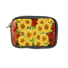 Sunflowers Flowers Abstract Coin Purse