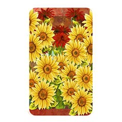 Sunflowers Flowers Abstract Memory Card Reader