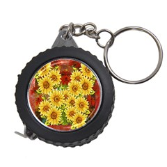 Sunflowers Flowers Abstract Measuring Tapes