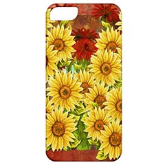 Sunflowers Flowers Abstract Apple iPhone 5 Classic Hardshell Case