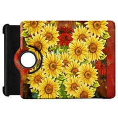 Sunflowers Flowers Abstract Kindle Fire Hd 7