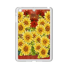 Sunflowers Flowers Abstract iPad Mini 2 Enamel Coated Cases