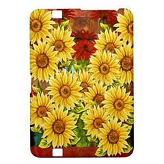 Sunflowers Flowers Abstract Kindle Fire HD 8.9