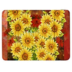 Sunflowers Flowers Abstract Samsung Galaxy Tab 7  P1000 Flip Case