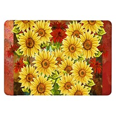 Sunflowers Flowers Abstract Samsung Galaxy Tab 8 9  P7300 Flip Case