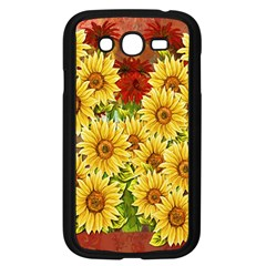 Sunflowers Flowers Abstract Samsung Galaxy Grand Duos I9082 Case (black)