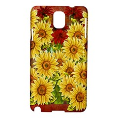 Sunflowers Flowers Abstract Samsung Galaxy Note 3 N9005 Hardshell Case